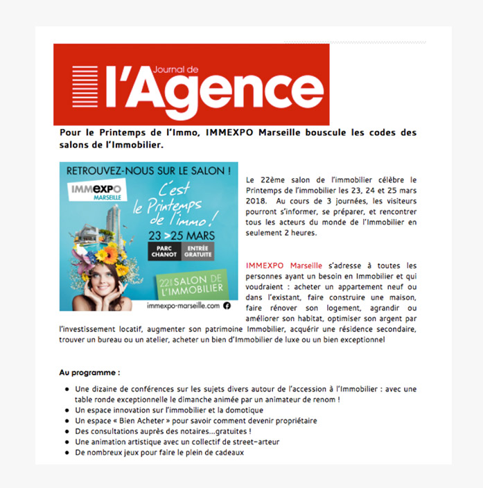 article presse journal l'agence