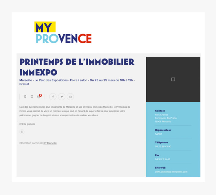 article presse my provence